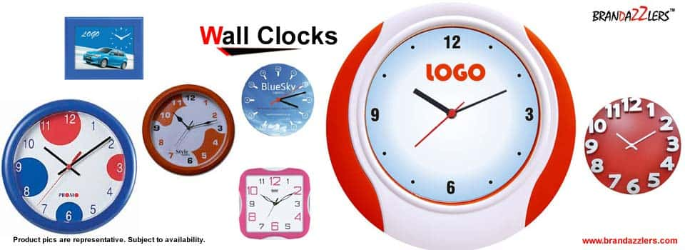 promotional wall clocks, logo wall clocks, advertising wall clocks, custom printed wall clocks, engraved wall clocks, imprinted wall clocks, branded wall clocks, chinese wall clocks suppliers in gurgaon, noida,faridabad, india