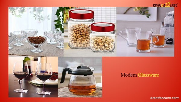 Corporate Diwali Gifts ideas for employees Modern Glassware