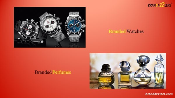 Corporate Diwali Gifts ideas for employees branded watches Branded Perfumes