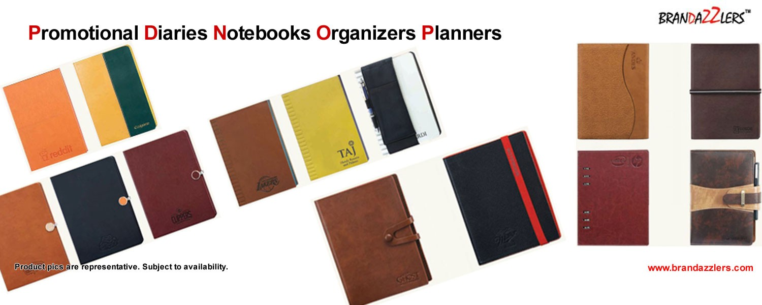 Promotional gifts, Promotional Diaries, Bulk undated note books, planners, organizers as corporate gifts
