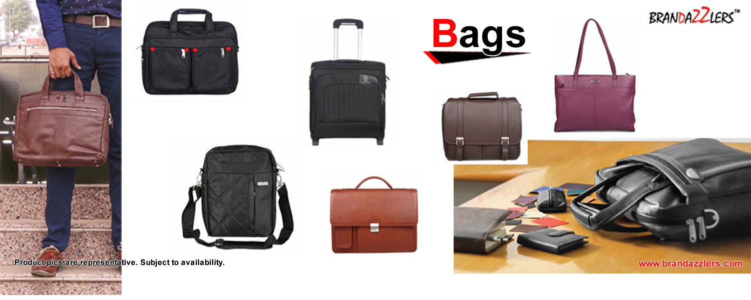 Corporate gift ideas, Variety of bags, laptop bags, duffle bags, backpacks, as corporate gifts