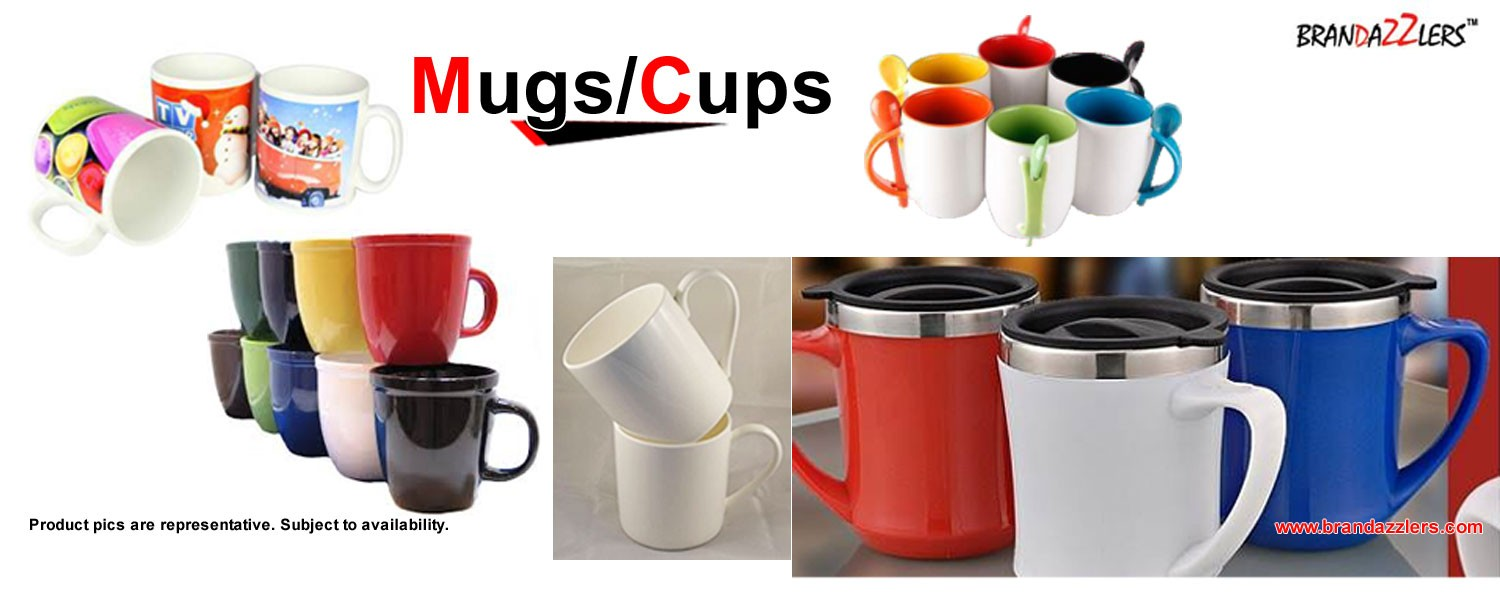 Corporate gift ideas, Promotional mugs and cups as corporate gifts