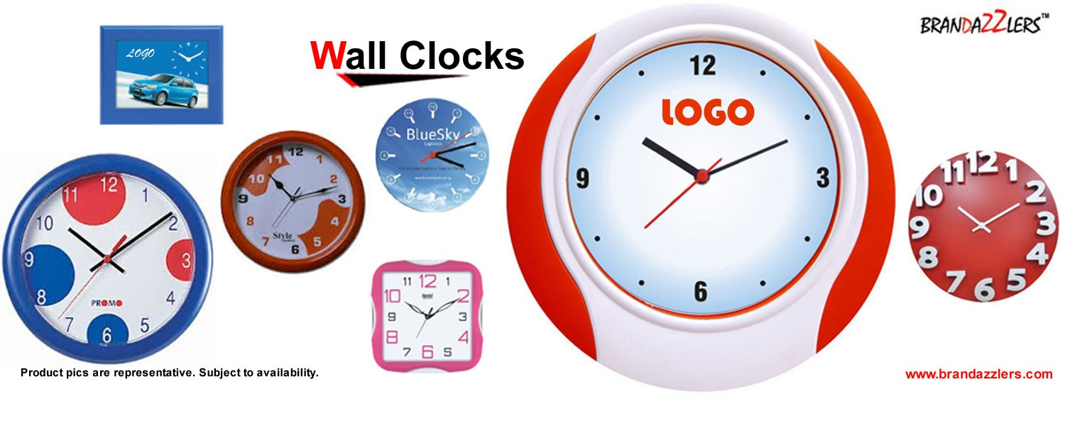 Gift ideas for employees, Promotional wall clocks as corporate gifts