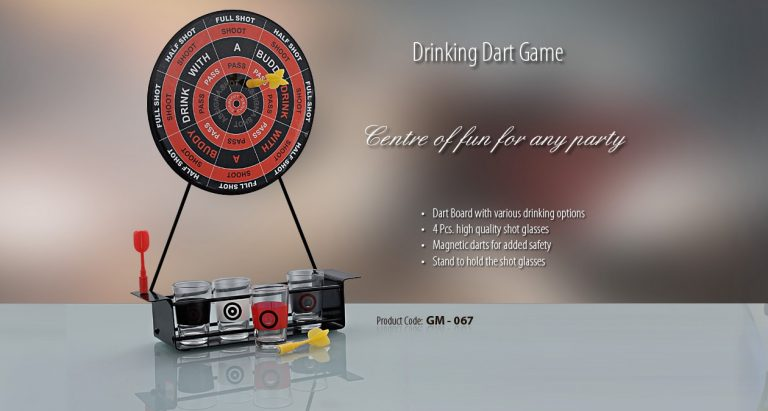 GM-067--DRINKING DART GAME