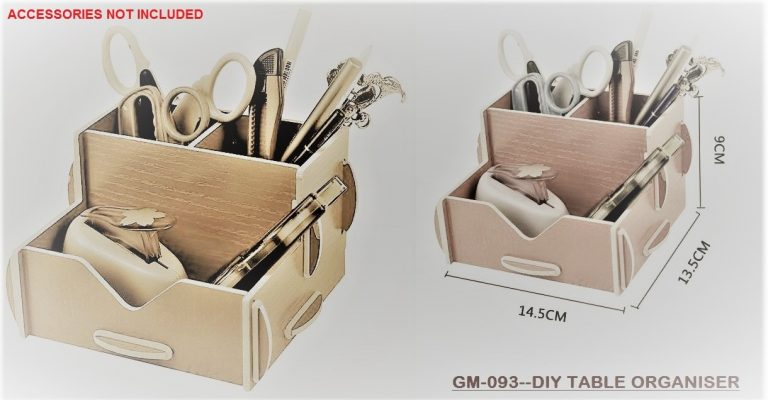 GM-093--DIY TABLE ORGANISER