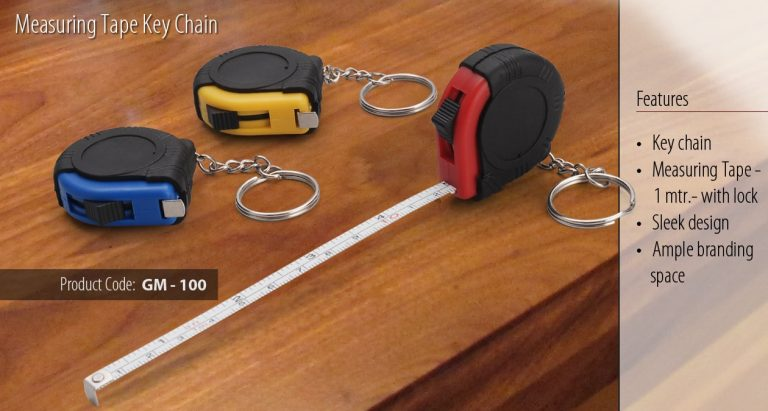 GM-100--MEASURING TAPE KEY CHAIN