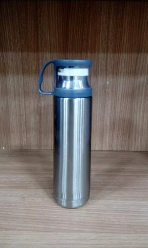 GM239--Silver Flask With Cap_thumb