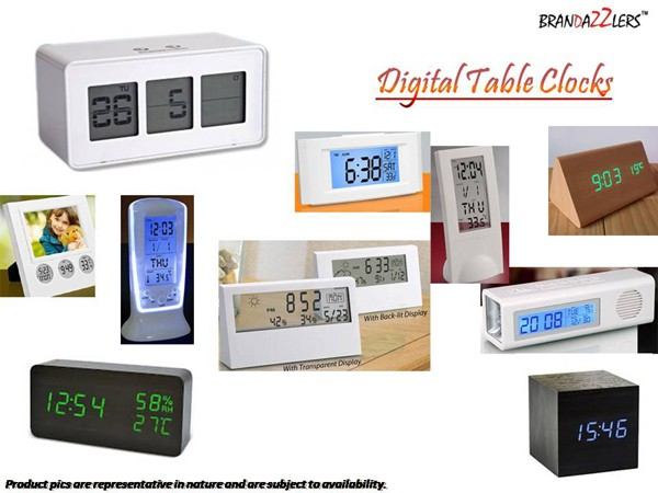 Digital Table Clocks as Corporate diwali gifts ideas