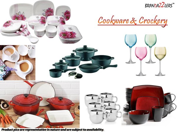 Cookware & Crockery as Corporate diwali gifts ideas