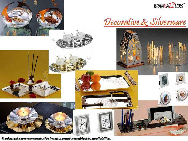 Decorative & Silverware as Corporate diwali gifts ideas