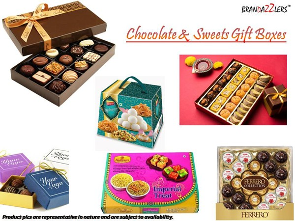 Chocolate & Sweets Gift Boxes as Corporate diwali gifts ideas