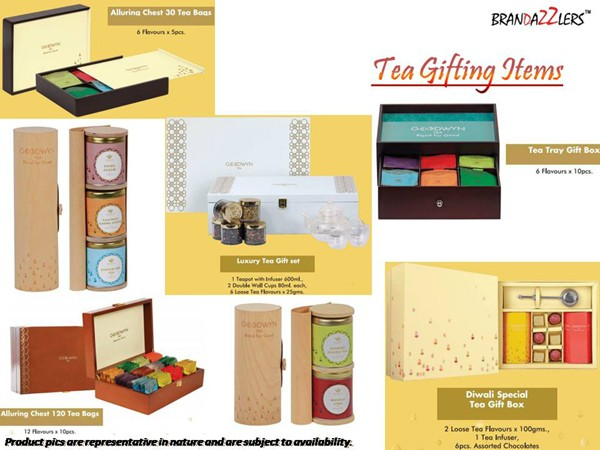 Tea Gifting Items as Corporate diwali gifts ideas