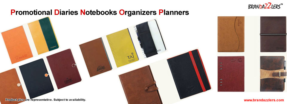 promotional diaries corporate notebooks logo printed diaries