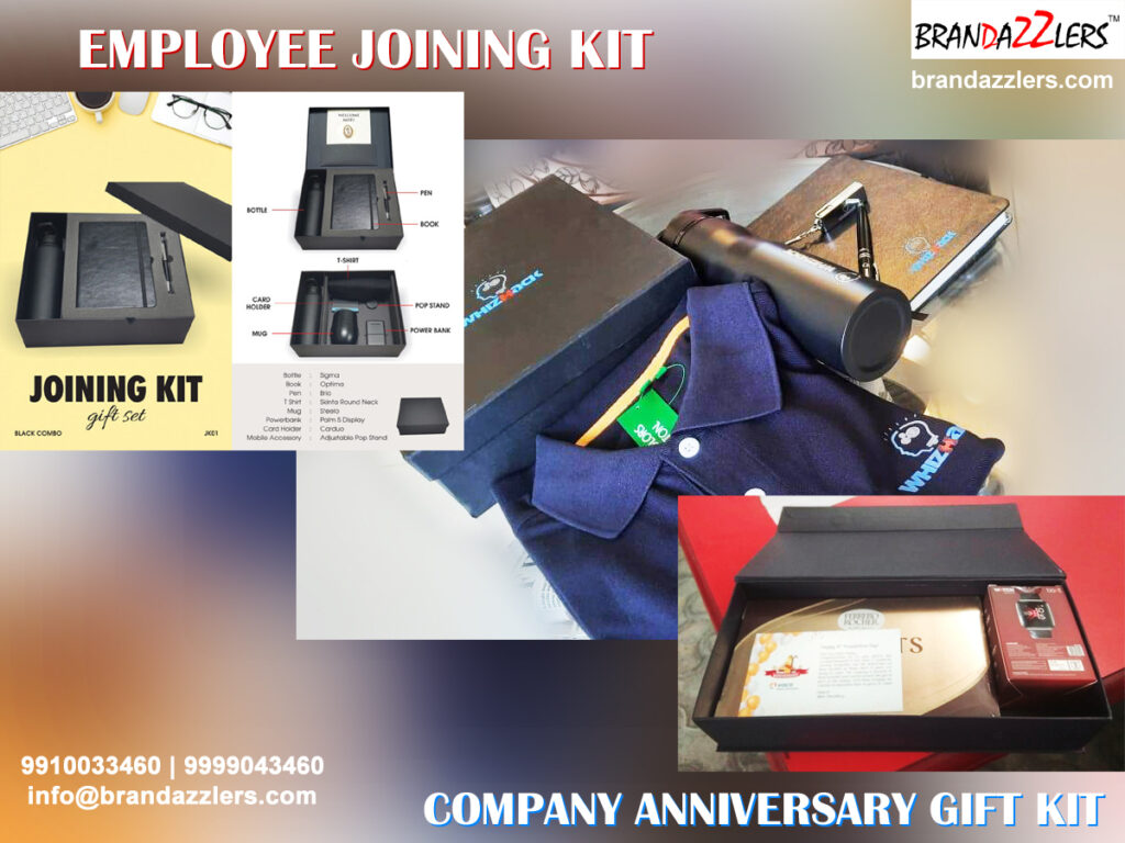 Corporate gift ideas for employees employee joining kit